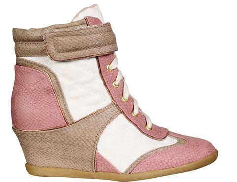 Footwear, Product, Brown, Shoe, White, Red, Pink, Tan, Carmine, Fashion,