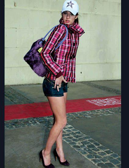 Clothing, Sleeve, Human leg, Human body, Shirt, Textile, Red, Helmet, Pattern, Style,