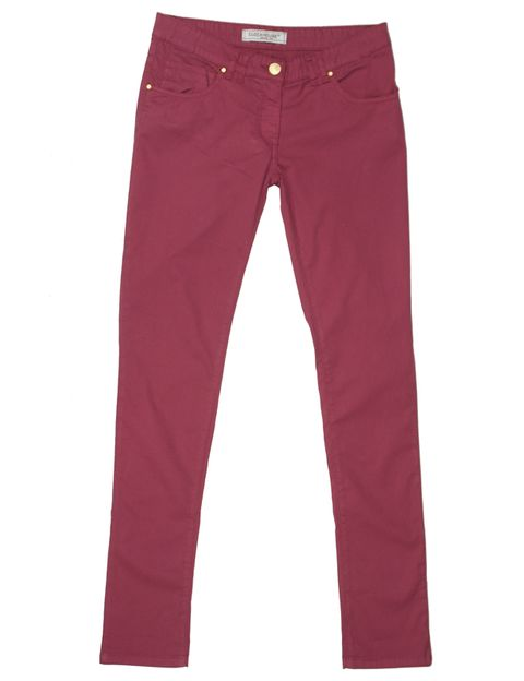 Brown, Trousers, Denim, Textile, Jeans, Pocket, Red, Pink, Style, Orange,