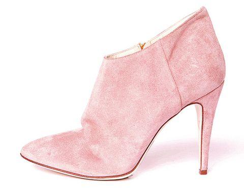 Footwear, High heels, Pink, Tan, Beige, Boot, Basic pump, Leather, Foot, Fashion design,