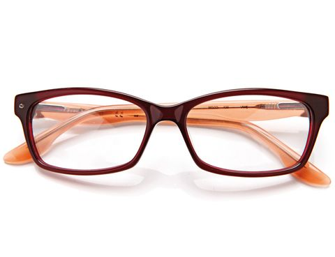 Eyewear, Glasses, Vision care, Product, Brown, Orange, Glass, Personal protective equipment, Line, Amber,