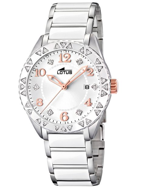 Analog watch, Product, Watch, Glass, Photograph, White, Red, Fashion accessory, Watch accessory, Font,