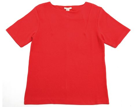 Product, Sleeve, Red, White, Carmine, Neck, Baby & toddler clothing, Maroon, Coquelicot, Active shirt,