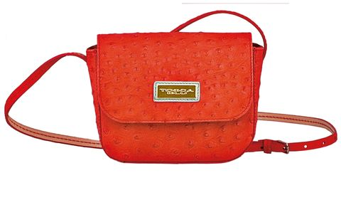 Product, Red, Bag, Carmine, Orange, Maroon, Coquelicot, Shoulder bag, Leather, Strap,