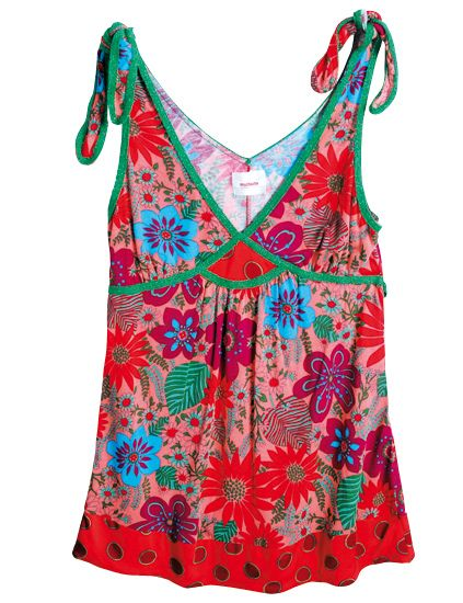 Textile, Sleeveless shirt, Pattern, Red, One-piece garment, Teal, Neck, Aqua, Turquoise, Day dress,