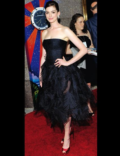 Dress, Strapless dress, Flooring, Carpet, One-piece garment, Cocktail dress, Fashion, Waist, High heels, Day dress,