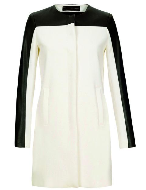 Product, Sleeve, Textile, White, Style, Dress, Fashion, Black, Clothes hanger, Ivory,