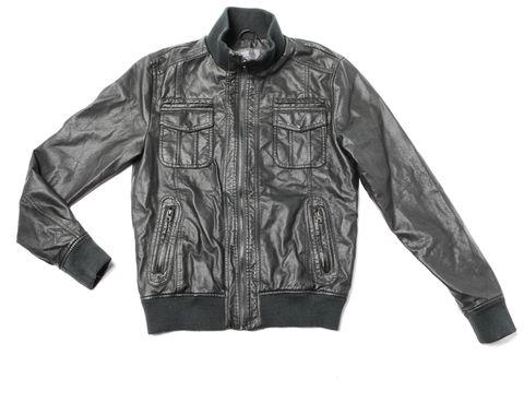 Clothing, Jacket, Collar, Sleeve, Coat, Textile, Outerwear, White, Style, Pattern,