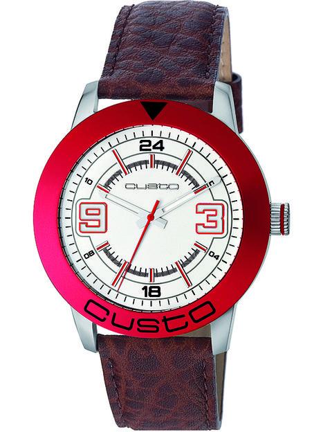 Product, Analog watch, Watch, Red, Glass, Fashion accessory, Font, Watch accessory, Carmine, Black,