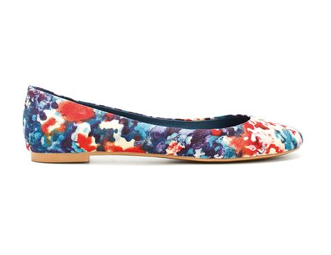 Shoe, Ballet flat, Turquoise, Teal, Fashion design,