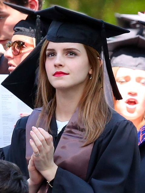 Nose, Academic dress, Hairstyle, Event, Scholar, Mortarboard, Graduation, Headgear, Costume accessory, Fashion,
