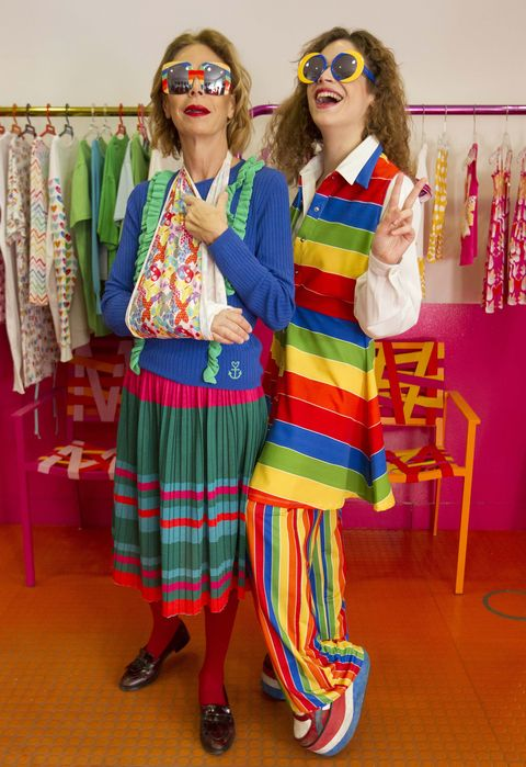 Clothing, Fashion, Fun, Textile, Fashion design, Room, Plaid, Costume, Tartan, Clown,