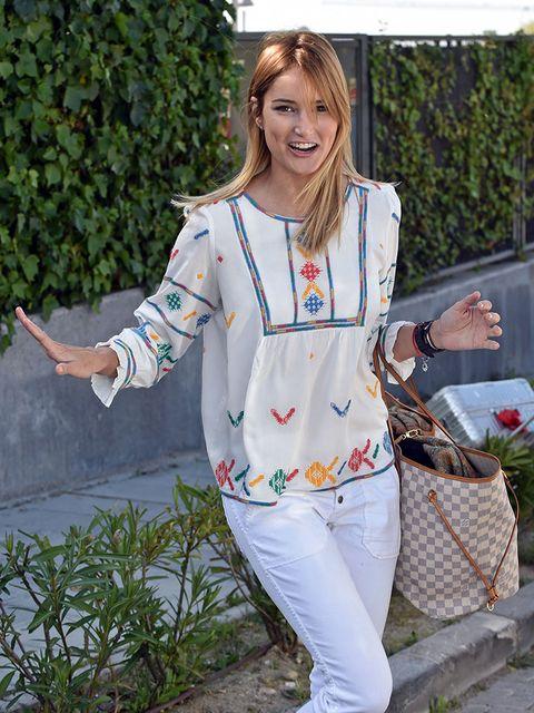 Clothing, White, Street fashion, Jeans, Fashion, Outerwear, Footwear, Denim, Jacket, Sleeve,