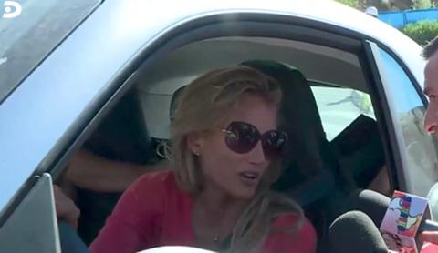 Eyewear, Sunglasses, Face, Glasses, Vehicle door, Car seat, Cool, Head, Driving, Vision care,