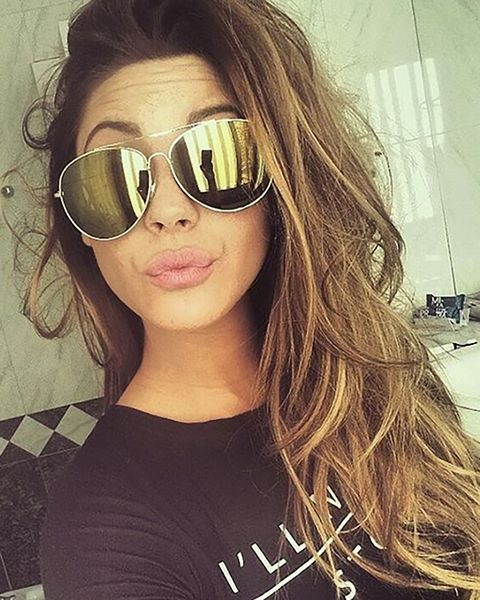 Eyewear, Glasses, Vision care, Lip, Hairstyle, Sunglasses, Goggles, Selfie, Cool, Beauty,