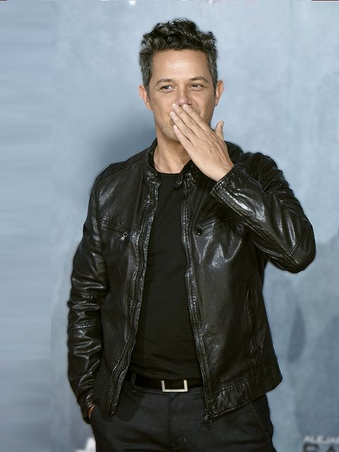 Leather, Jacket, Leather jacket, Textile, Forehead, Cool, Cheek, Fashion, Outerwear, Model,