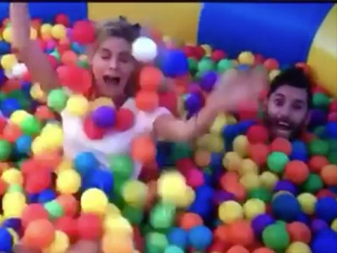 Ball pit, Toy, Play, Fun,