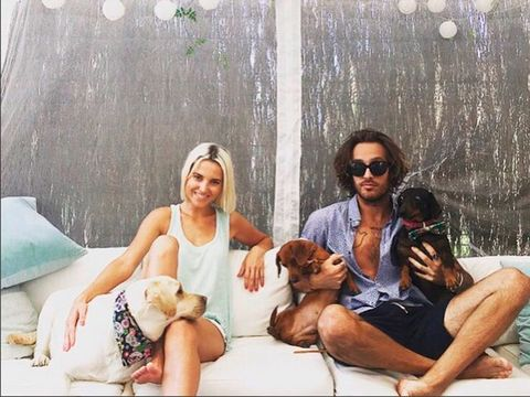 Canidae, Dog, Companion dog, Fun, Summer, Friendship, Leisure, Sporting Group, Vacation, Sitting,