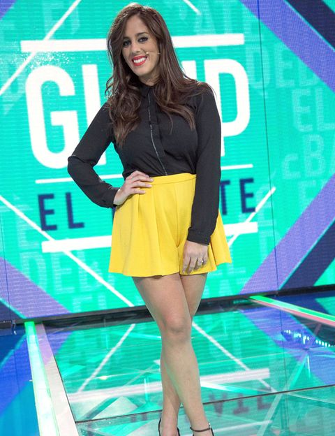 Sleeve, Human leg, Style, Electric blue, Knee, High heels, Thigh, Fashion, Youth, Fashion model,