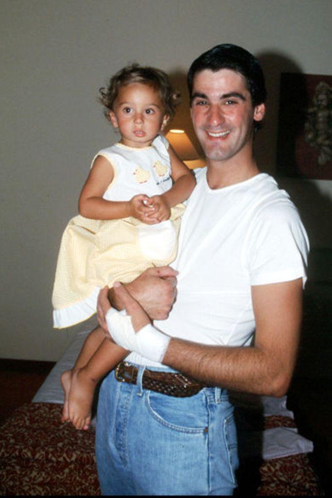 Jesulín de Ubrique con su hija Andrea Janeiro