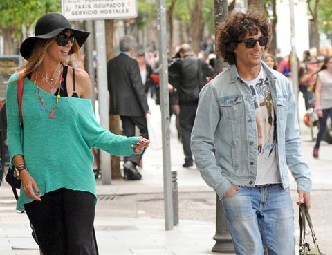 Clothing, Eyewear, Vision care, Glasses, Trousers, Green, Denim, Textile, Shirt, Hat,