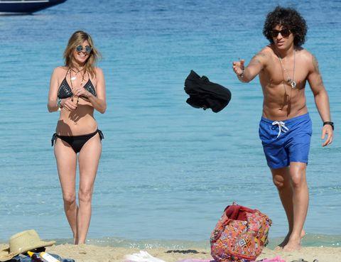 Clothing, Eyewear, Vision care, Leg, Fun, Human body, Goggles, Sunglasses, People on beach, Summer,