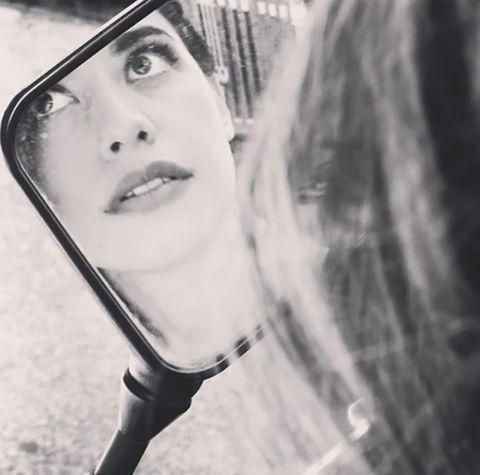 Face, Black, Lip, Black-and-white, Beauty, Eyebrow, Head, Eye, Nose, Monochrome,