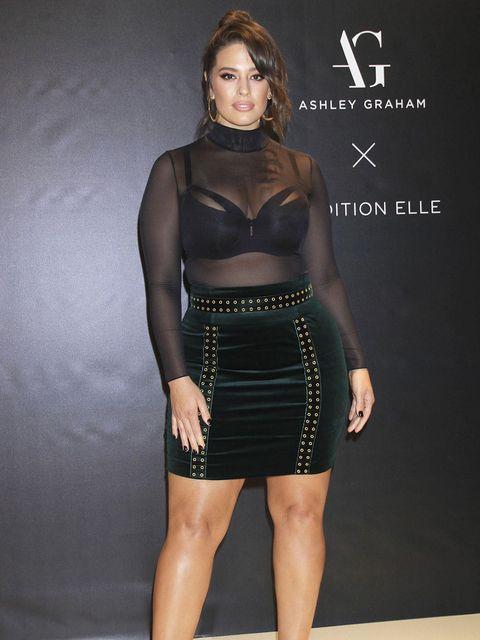 Clothing, Black, Dress, Cocktail dress, Fashion, Shoulder, Fashion model, Waist, Crop top, Little black dress,