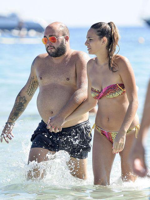 Fun, People, Human body, Brassiere, People on beach, Swimwear, Summer, Chest, People in nature, Swimsuit top,