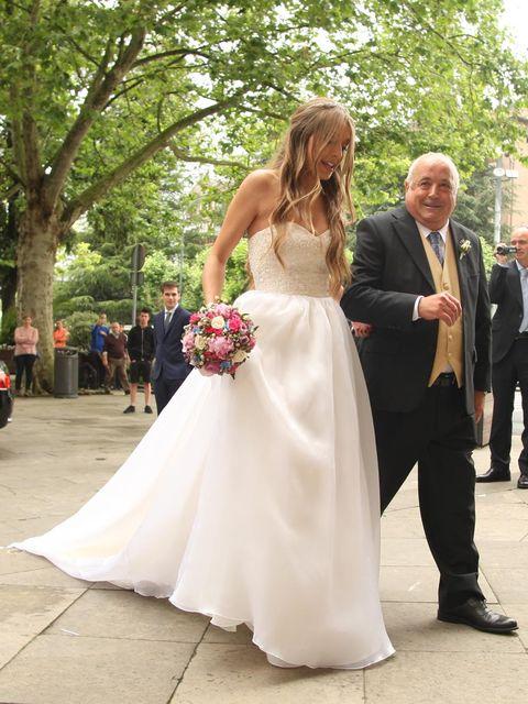 Bride, Gown, Wedding dress, Dress, Photograph, Bridal clothing, Ceremony, Clothing, Wedding, Formal wear,