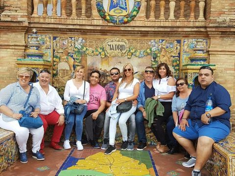 People, Social group, Jeans, Community, Leisure, Tourism, Sharing, Temple, World, Majorelle blue,