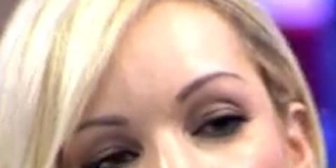 Head, Nose, Lip, Cheek, Brown, Hairstyle, Skin, Eye, Chin, Forehead,