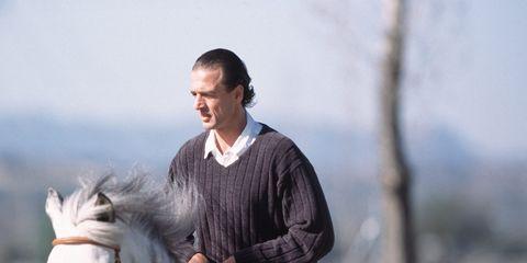Human, Halter, Bridle, Horse supplies, Horse, Horse tack, Vertebrate, Rein, Equestrianism, English riding,