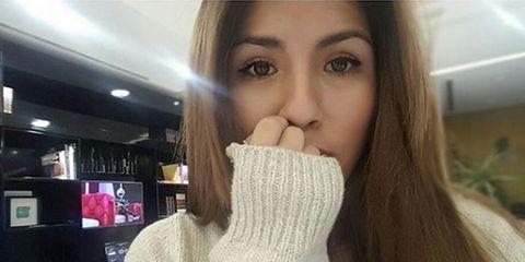 Nose, Lip, Cheek, Brown, Hairstyle, Skin, Eye, Eyebrow, Eyelash, Jaw,