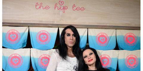 Eye, Textile, Beauty, Youth, Black hair, Long hair, Peach, Teal, Makeover, Layered hair,