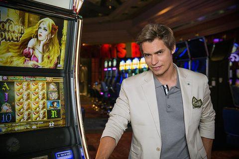 Slot machine, Games, Casino, Machine, Recreation, Technology, Fun, Electronic device,