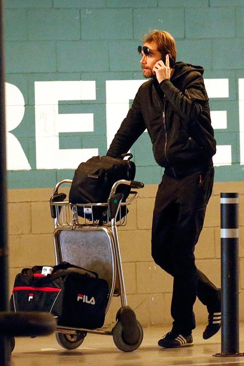 Jacket, Sunglasses, Rolling, Baggage, Cleanliness, Acting,