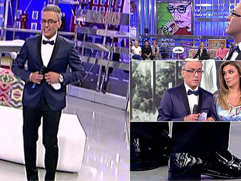 Suit trousers, Blazer, White-collar worker, Collage, Led-backlit lcd display, Shelf, Television presenter, Official, Pocket, Businessperson,