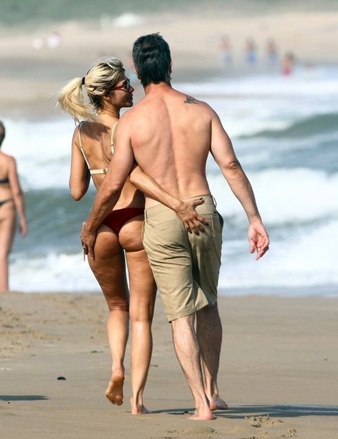 People on beach, Human leg, Barefoot, People in nature, Summer, Beach, Toe, Sand, Barechested, Back,
