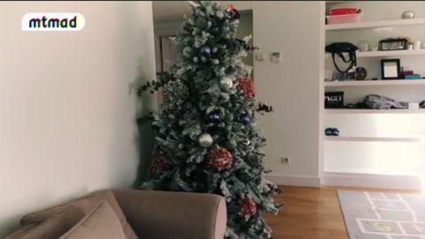 Room, Interior design, Property, Christmas tree, Home, Christmas decoration, White, Interior design, Floor, Christmas ornament,