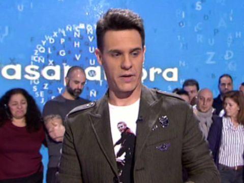 Christian Gálvez en Pasapalabra
