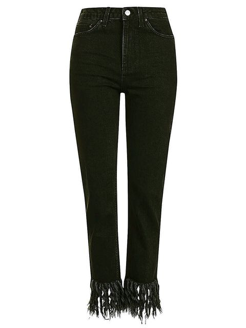 Jeans, Clothing, Denim, Black, Green, Trousers, Pocket, Waist, Textile,