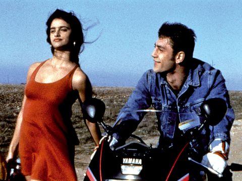 Motorcycle, Happy, Fender, Black hair, Travel, Motorcycling, Motorcycle accessories,
