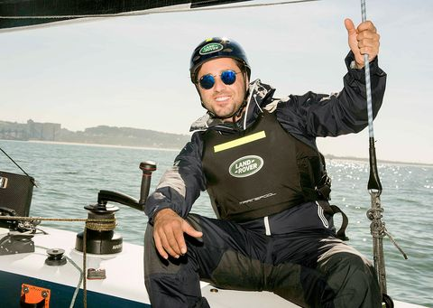 Eyewear, Goggles, Vision care, Personal protective equipment, Glove, Sunglasses, Boat, Watercraft, Naval architecture, Sound,