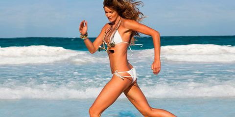 Fun, Hairstyle, Human leg, Brassiere, Swimsuit top, Waist, Swimwear, Bikini, Summer, People in nature,