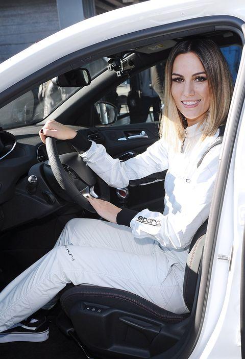 Vehicle, Motor vehicle, Car, Vehicle door, Automotive design, Car seat cover, Car seat, Family car, Black hair, Driving,