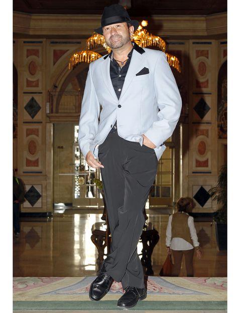 Dress shirt, Shirt, Outerwear, Style, Formal wear, Hat, Collar, Fashion, Blazer, Suit trousers,