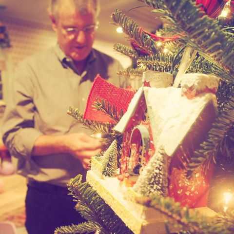 Holiday, Christmas decoration, Interior design, Tradition, Christmas, Present, Christmas eve, Basket, Christmas ornament, Conifer,