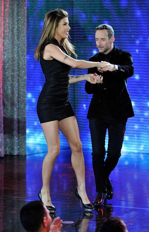 Leg, Entertainment, Human leg, Performing arts, Dress, High heels, Thigh, Sandal, Dance, Curtain,