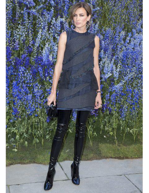 Blue, Electric blue, Knee, Fashion accessory, Street fashion, High heels, Cobalt blue, Fashion model, Majorelle blue, Wildflower,